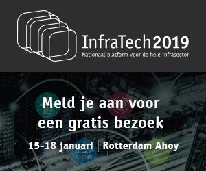 Schrijf u in voor een bezoek aan InfraTech 2019 in Ahoy Rotterdam