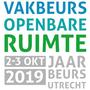 Logo van vakbeurs openbare ruimte 2019