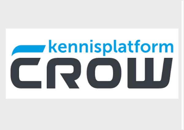 Logo Kennisplatform CROW bij Congres Beheer en Onderhoud Openbare Ruimte 2018